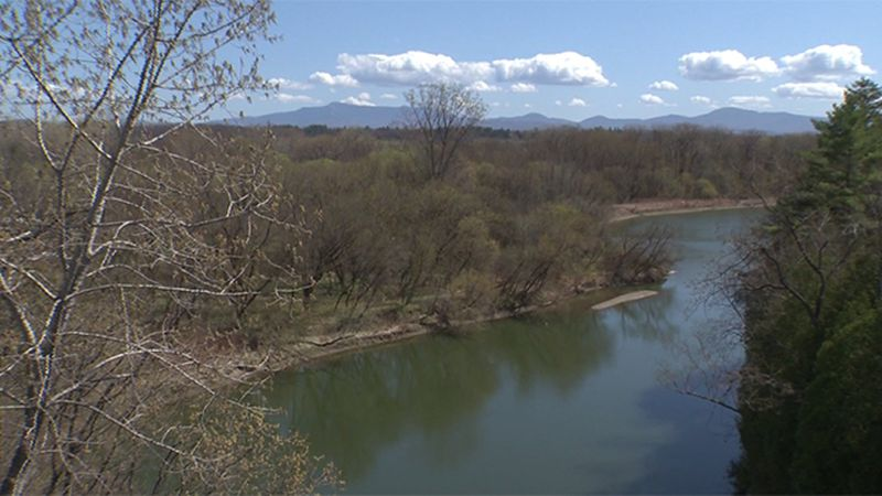Water levels on local rivers and Lake Champlain are running low.