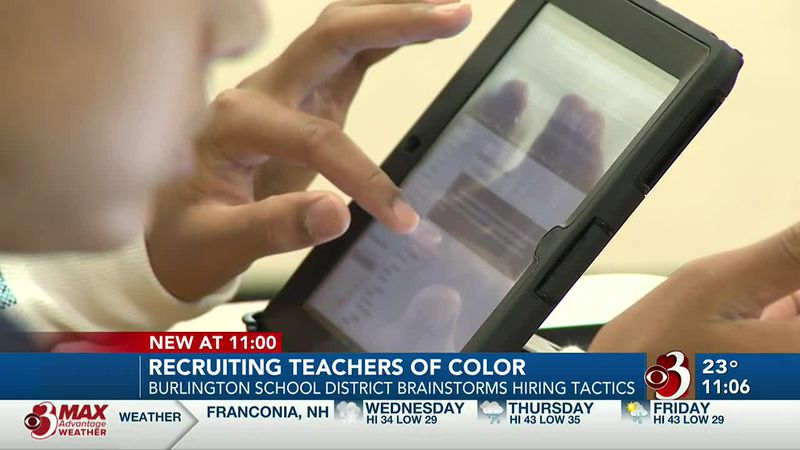 The Burlington School District is trying to come up with ways to recruit and retain more...