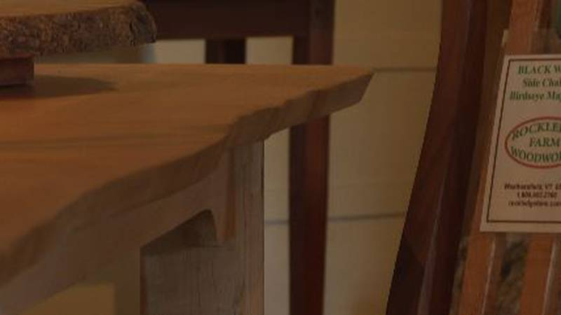 Beautiful wooden works -- grown, cut, shaped, sanded and stained right here in Vermont.
