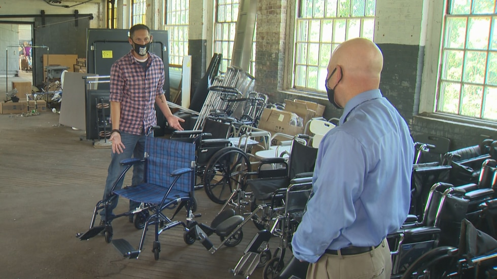An Upper Valley man, well known for his kindness in the community, started a program where he loans vital medical equipment to people in need for free.