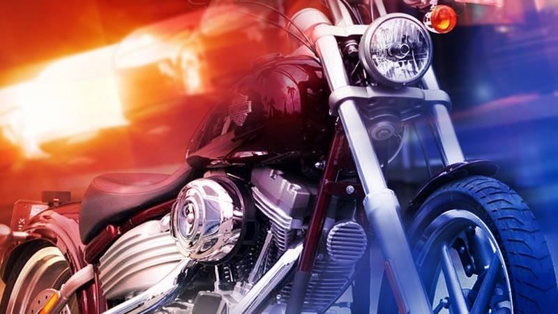 Barre man crashes motorcycle