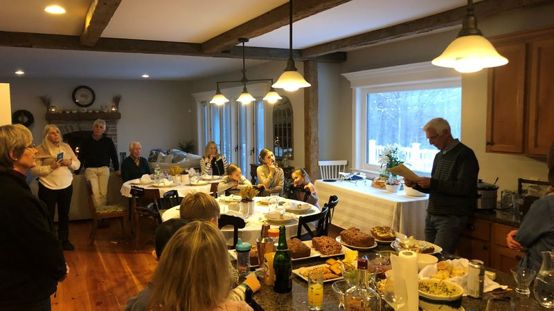 A photo from Suzanne Mears' family Thanksgiving celebration in 2018.