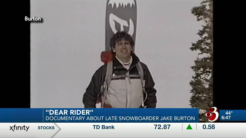 A new documentary is coming out on the late snowboarding pioneer Jake Burton.