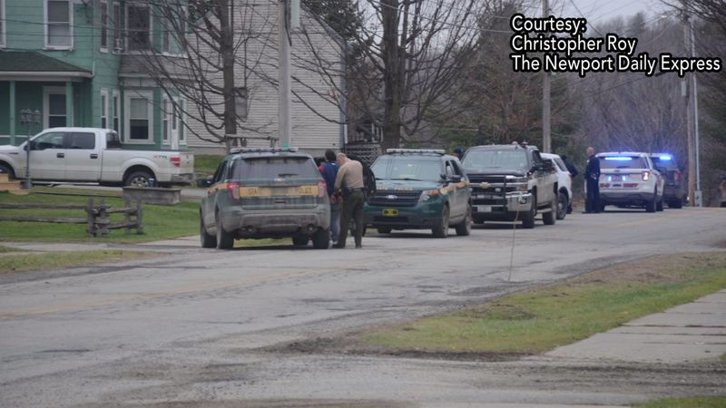 A shooting in Newport triggered a car chase and a partial school lockdown.