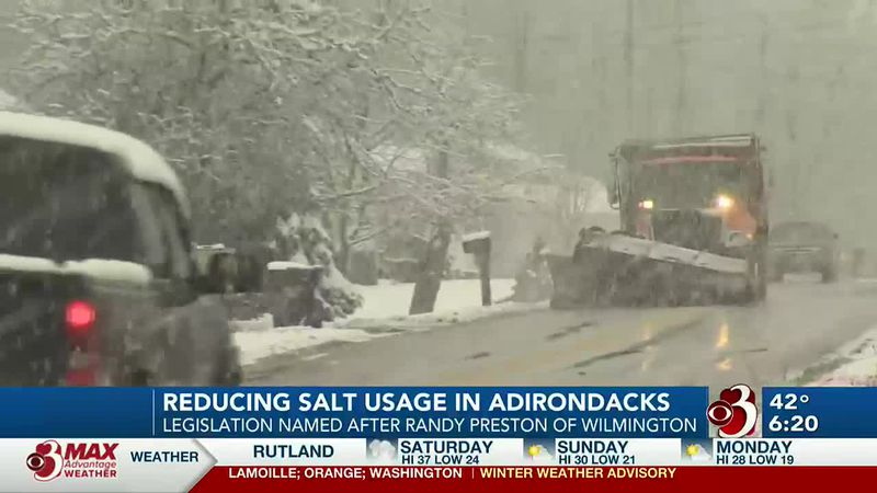 New law aimed at monitoring salt use on Adirondack roads