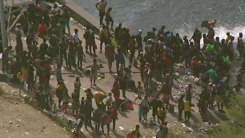 Border crisis worsens as thousands wait to enter the United States.