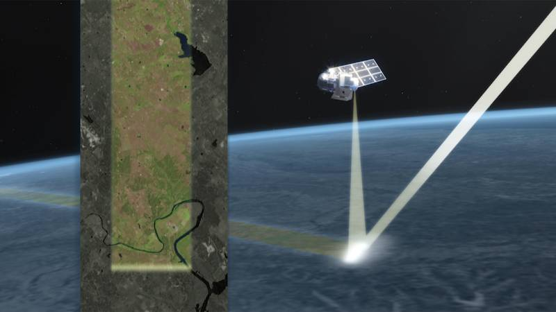 The next generation of NASA satellites launches to track changes on the Earth's surface.