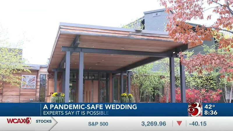 There's a lot of steps that can be taken to try to avoid COVID outbreaks at weddings.