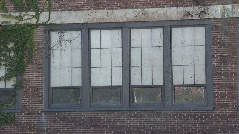 The Jones and Lamson building in Springfield, which has sat empty for almost 40 years.