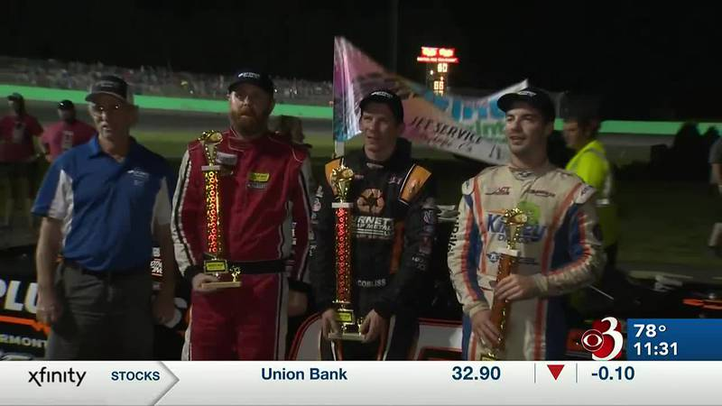 First driver to win five late model points races in a single season