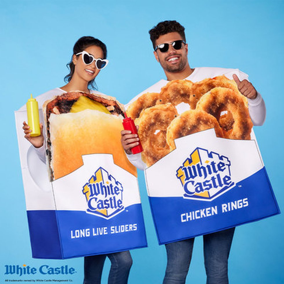 White Castle fans can dress up as their favorite food for Halloween.