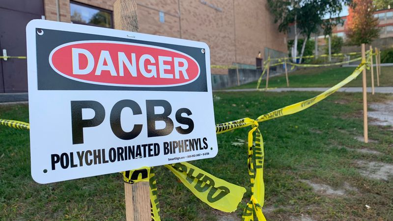 Chemical contamination at Burlington High School appears to be more extensive than feared and...