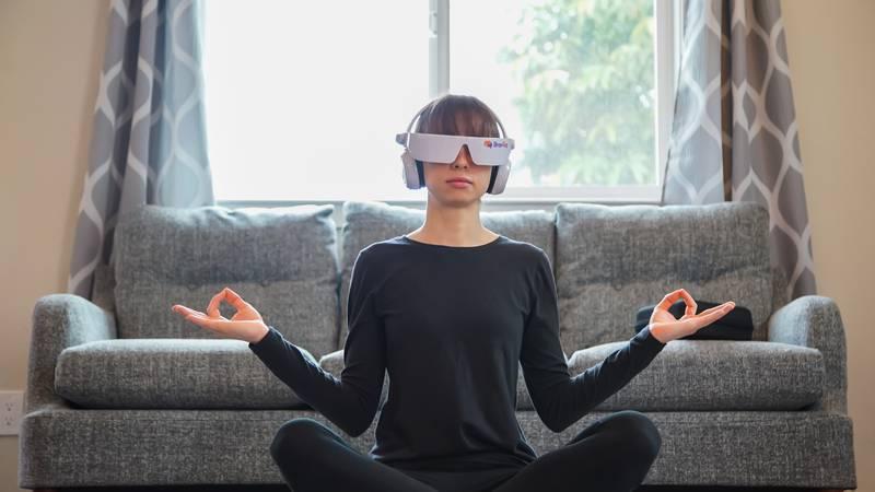 BrainTapping Meditation Yoga Pose