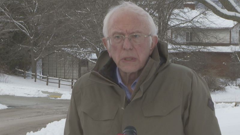 Sen. Bernie Sanders called the attack on our nation's Capitol a sad, sad day for American...