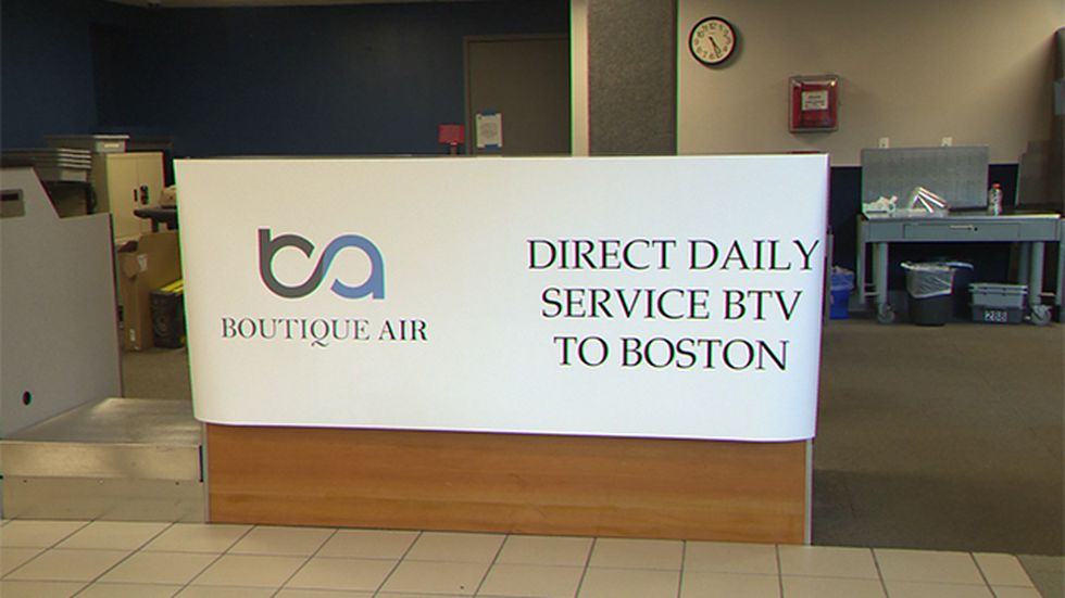 Boutique Air to offer Burlington to Boston service later this month.