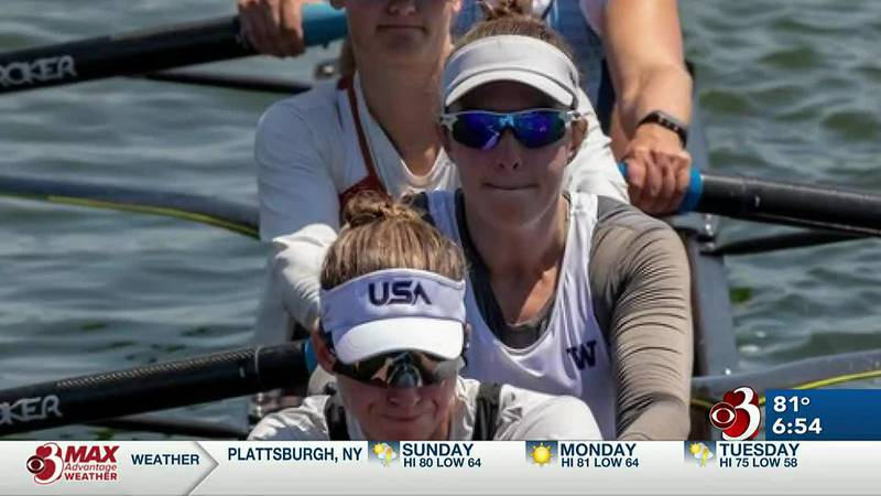 Vermont native in Tokyo with US Crew team