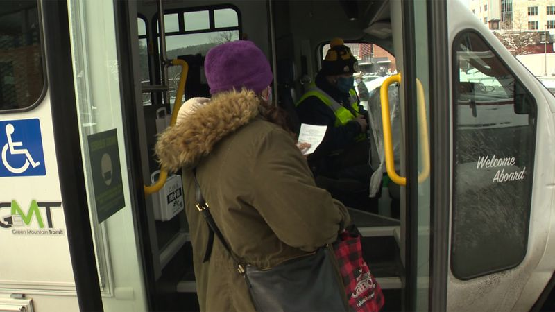 Green Mountain Transit rolled out a new ride-sharing service in Montpelier on Monday.
