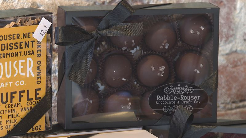 "The Rabble-Rouser Dulcey Truffle is made with cream from Butterworks Farm and an ""extremely..."