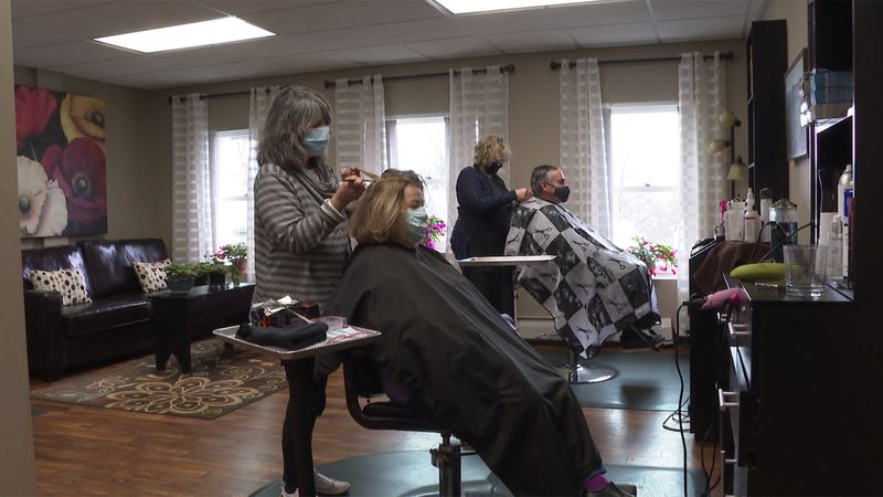 Three Rutland hair salons teamed up to make their charitable donations go further.