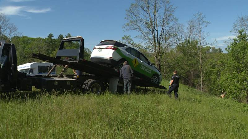 Police are investigating a crash in Essex that they say involved a stolen vehicle.
