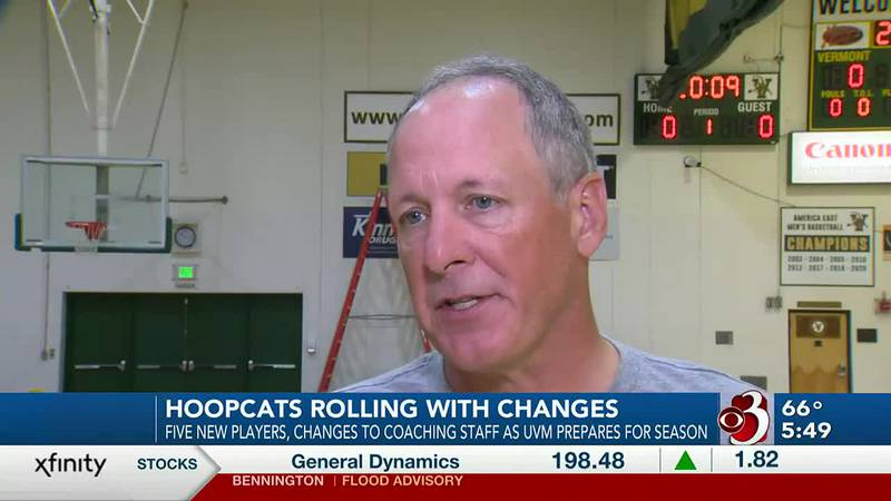 UVM Men's Hoops head coach adjusting to life after staff shakeup
