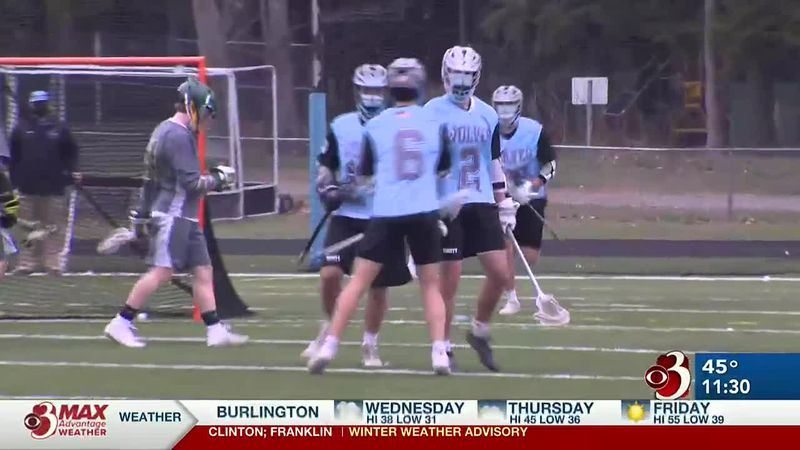 Plus highlights from wins by Essex baseball and softball and South Burlington boys lacrosse