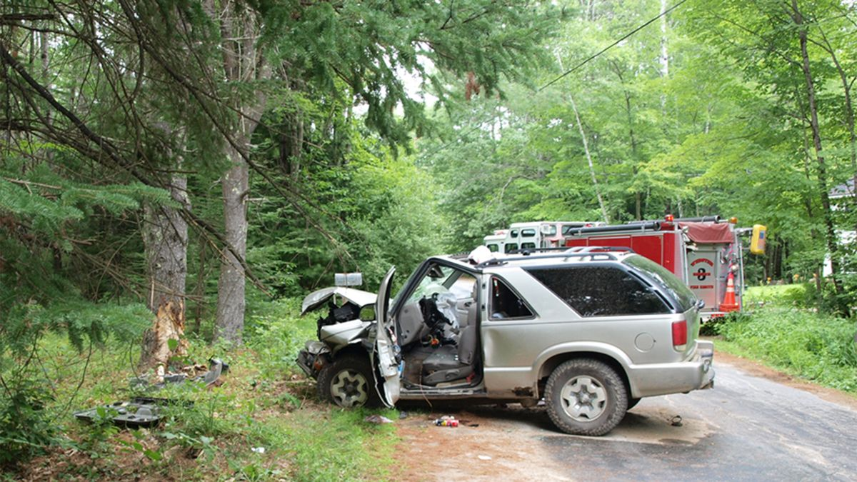Police say one man has died after a crash in Webster, New Hampshire.