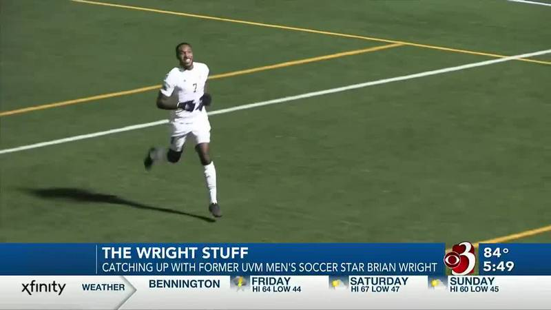 Catching up with former UVM men's soccer star Brian Wright