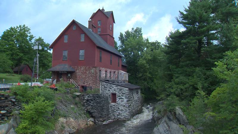 The iconic Old Red Mill in Jericho is in need of repairs.