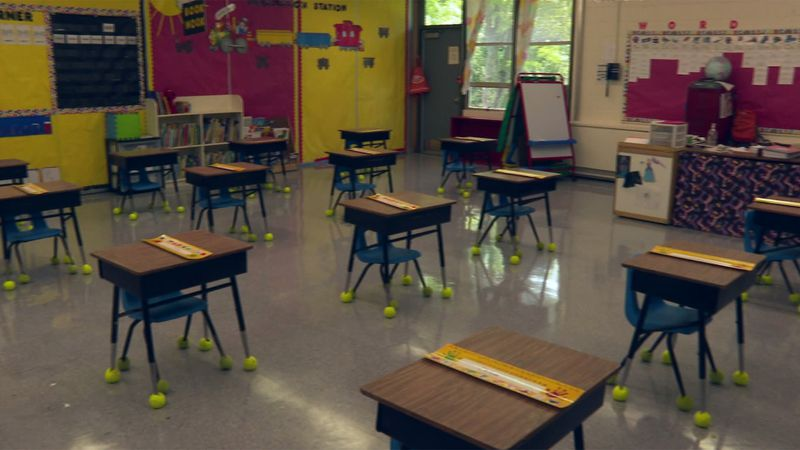 Vermont classrooms sit empty as school districts work to decide whether to students will return...