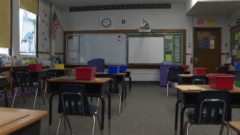 Teachers in some schools are busy creating synchronous lessons for students to follow along...