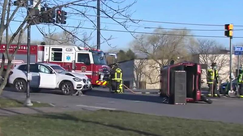 A South Burlington intersection has been reopened after a morning crash.