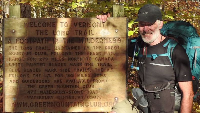 Artist Rob Mullen hiked the entire Long Trail, painting what he saw along the way.