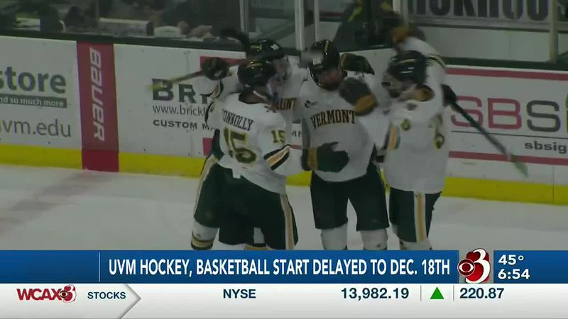 UVM men's and women's hockey teams were set to open seasons this Friday.