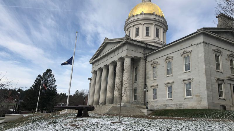Gov. Phil Scott says flags have been lowered to half-staff in honor of all 61 Vermonters who...