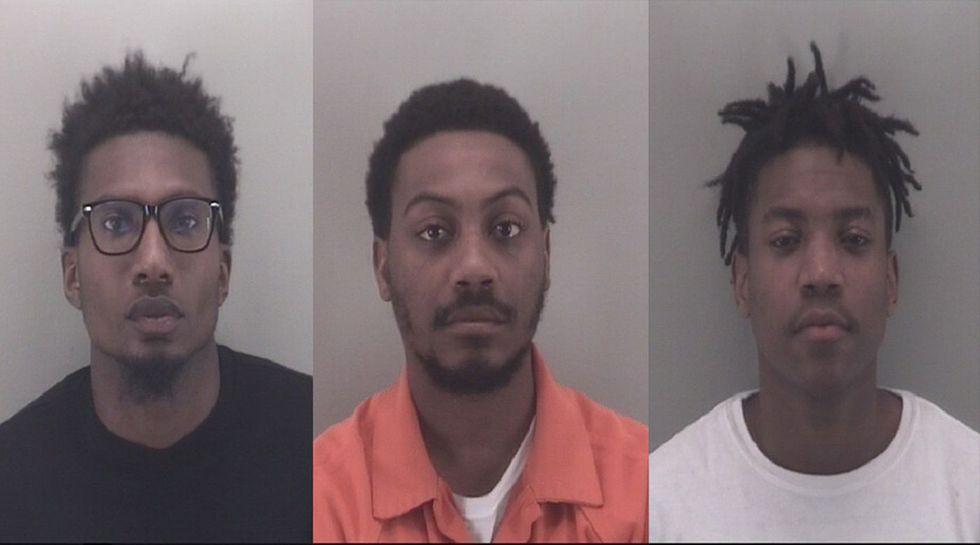 Donald Hemmings, Shyheem Martin and Shamondrick Perry (Source: Richmond Police)