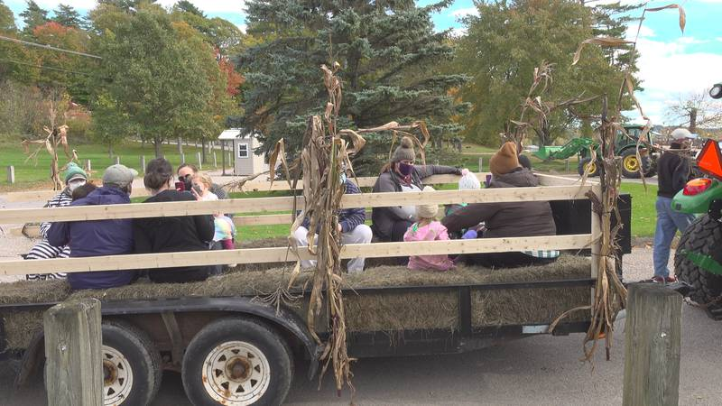 Burlington families celebrate spooky season.