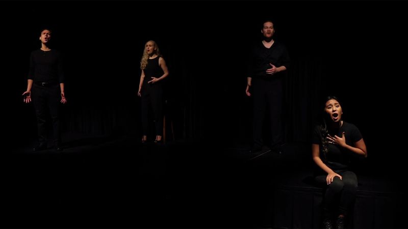 "Lyric Theatre is going virtual with its latest performance, ""Songs for a New World."""