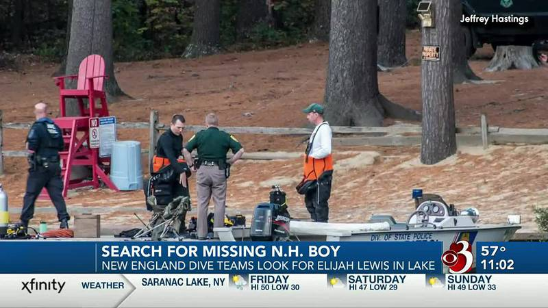 Search for missing New Hampshire boy continues