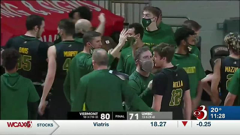 Davis, Smith and Shungu combined for 61 points to lead Vermont to an 80-71 win over Retrievers.