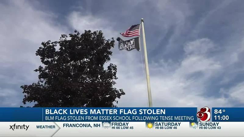 Black Lives Matter flag stolen from elementary school