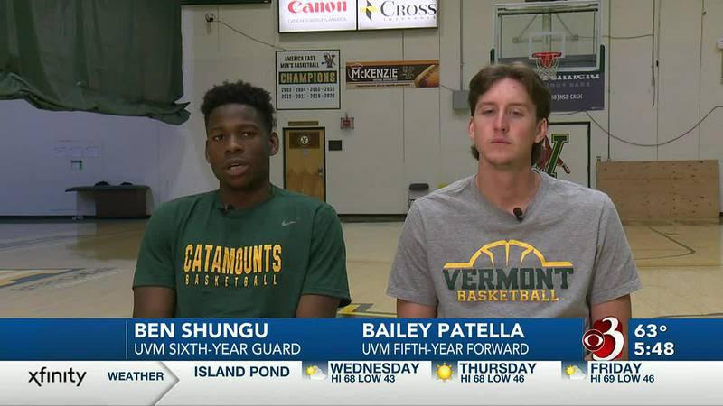 "Shungu, Patella back as ""super seniors"" for UVM men's basketball"
