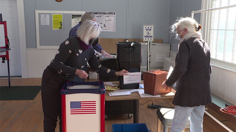 To prevent COVID-19, most towns carried on with some form of in-person and vote-by-mail...