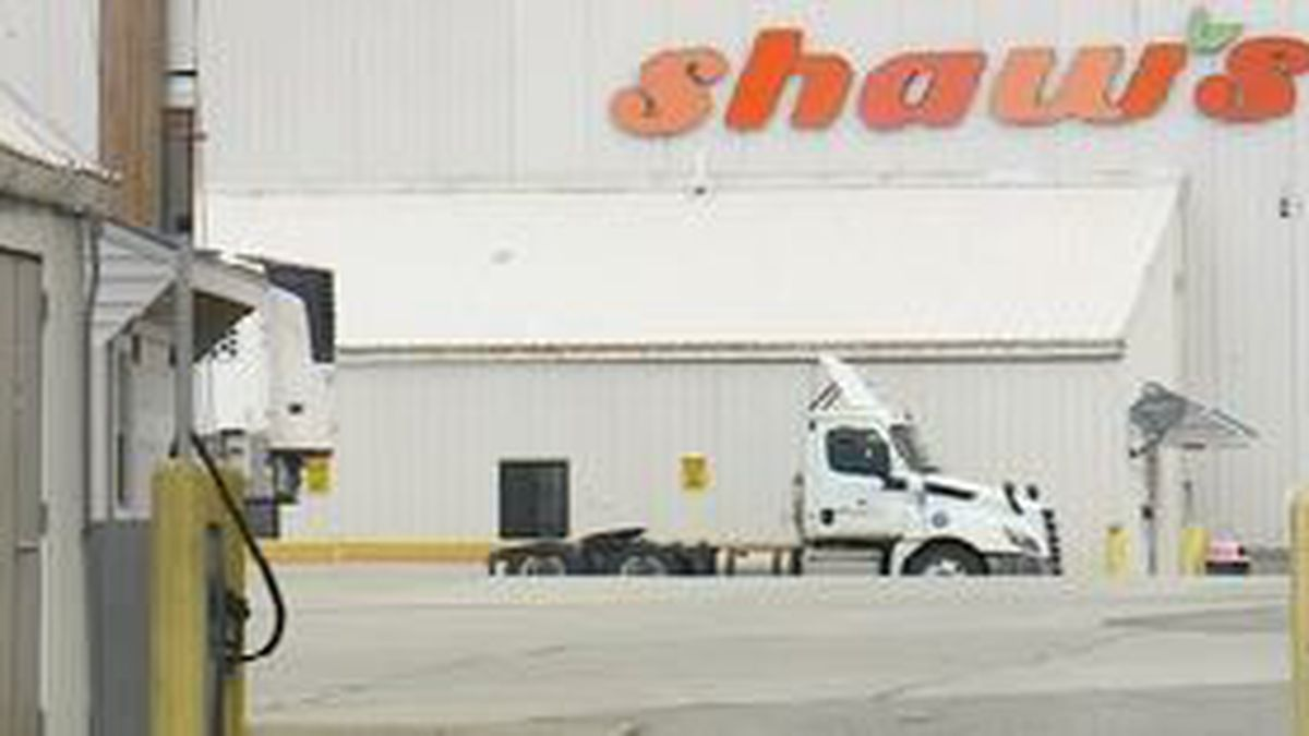 Truck drivers for Shaw's supermarkets represented by the Teamsters in Maine have gone on...