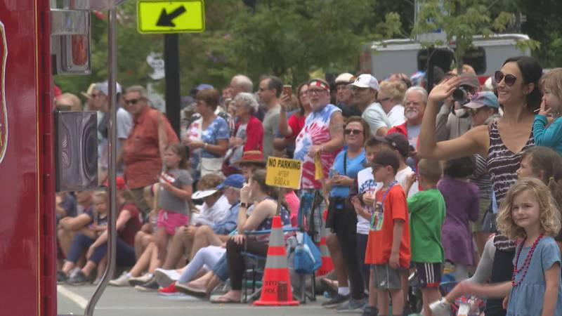 The Stowe July 4th celebration kicked off with live music in the village and a parade down Main...