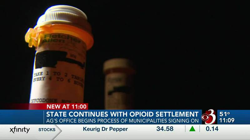 State continues with opioid settlement