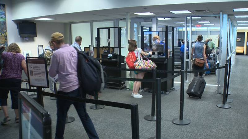 Travel is starting to take off again at the Burlington International Airport.