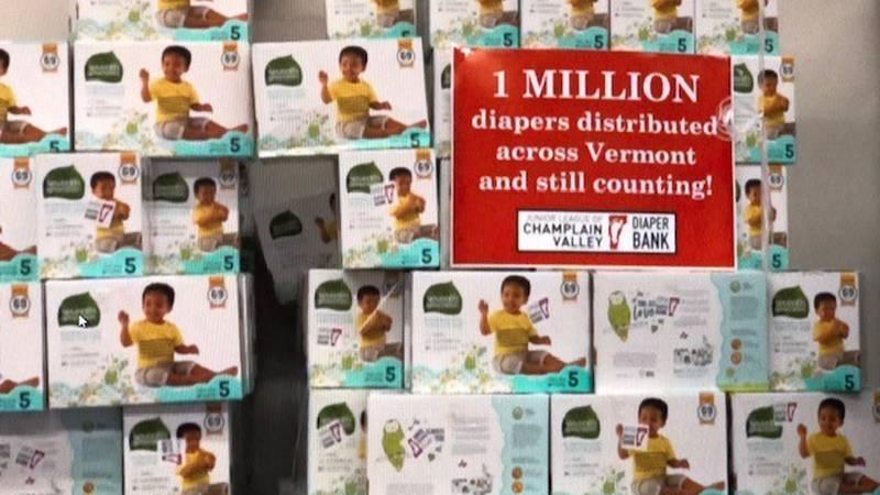 Vermont Diaper Bank hits major goal.