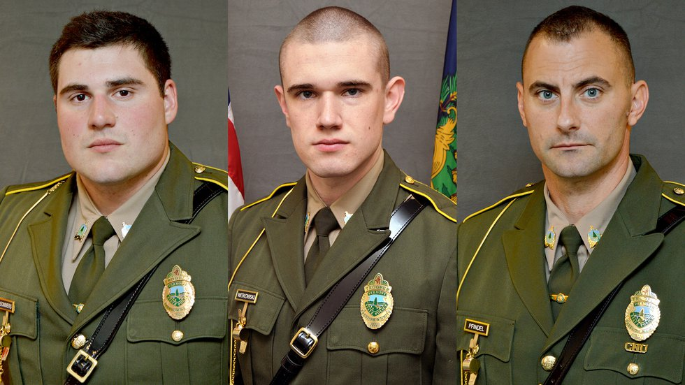 Vt. Troopers Shawn Sommers, Raymond Witkowski and David Pfindel have resigned in connection...