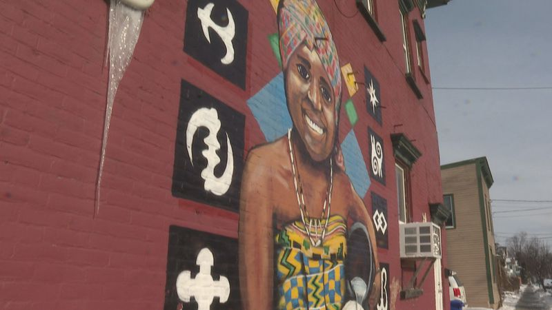 The Mawuhi African Market sits on the corner of North Winooski Avenue and North Street and has...